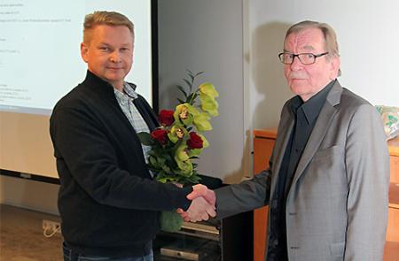 Hannu Liimatainen ja Raimo Perälä (oikealla)