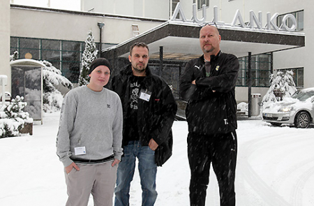 Nina Salminen, Mikko Nikkola ja Tommi Laurinen
